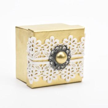 Κουτί μπομπονιέρας  39.01.881 8X8X5CM