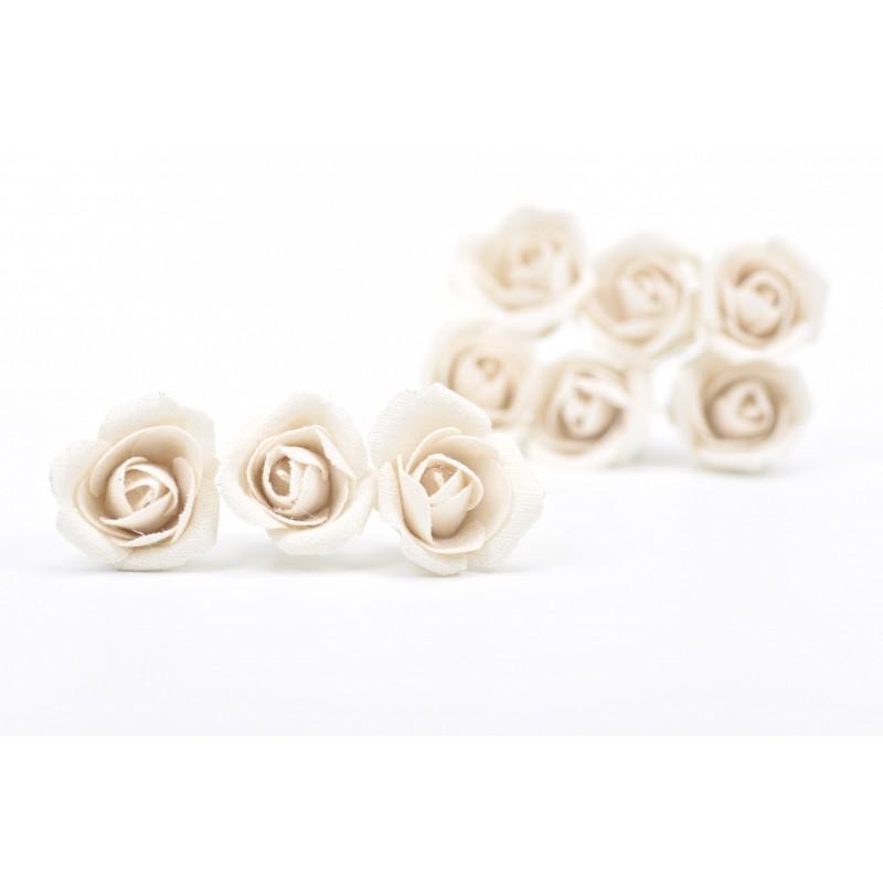 Υφασμάτινο τριαντάφυλλο 9τεμ.