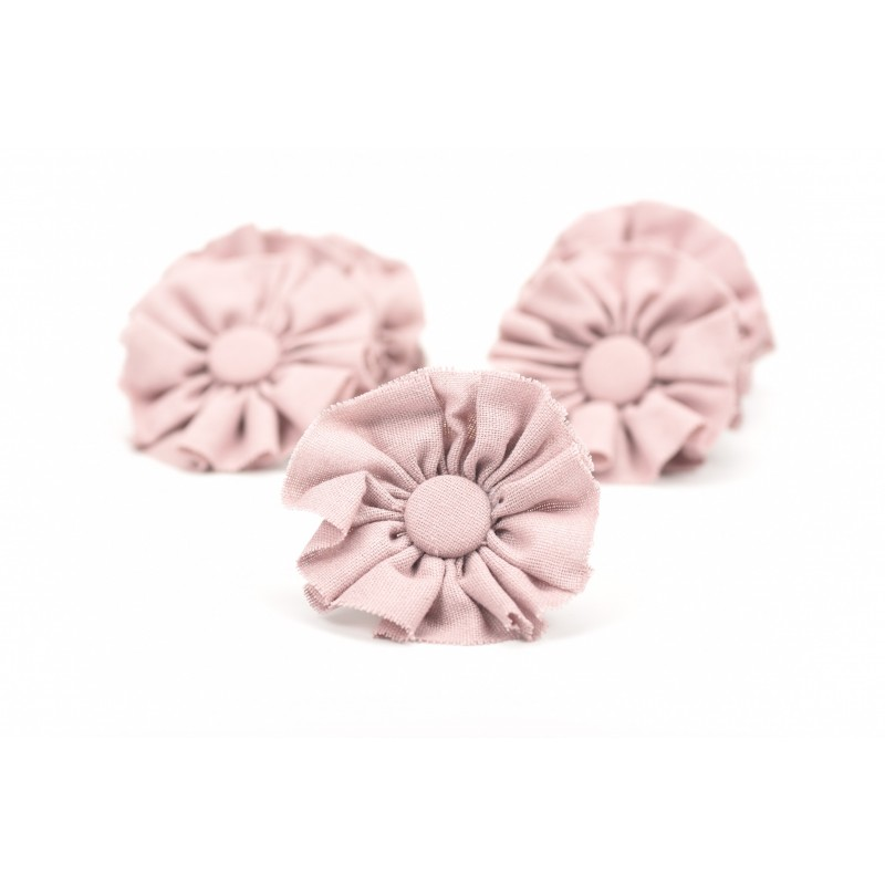 Υφασμάτινο λουλούδι 8x8cm