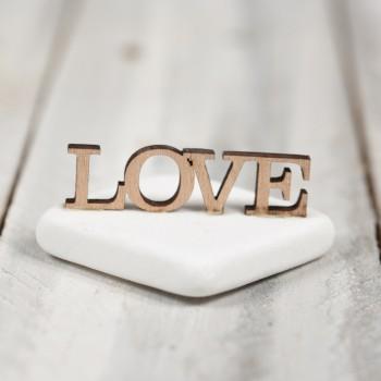 Μάρμαρο ξύλινο LOVE