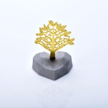 Δέντρο της Ζωής σε βότσαλο από γύψο