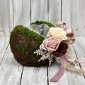 Κασπώ με βρύα και νάιλον για κατασκευές λουλουδιών