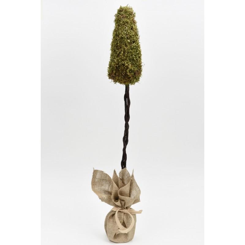 Στρογγυλό δεντράκι με βρύα 70cm