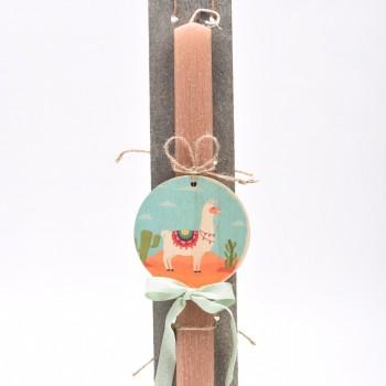 Λαμπάδα με θέμα  λάμα 7*45cm