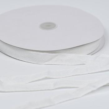Κορδέλα γκρό  λευκή 2cm x 50m