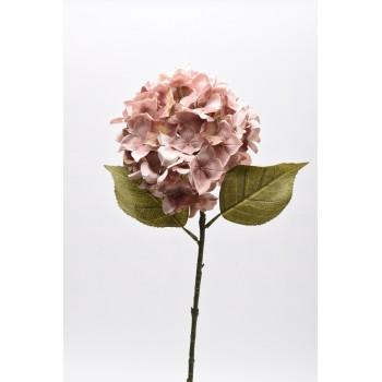 Κλαδί ορτανσία ροζ αντικέ 85εκ 30.11.866-21
