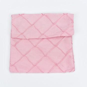 Πουγκί φάκελος ροζ  με 12*14cm