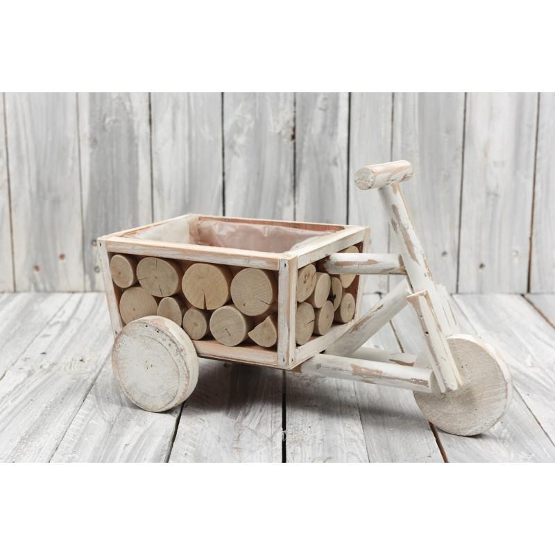 Ξύλινο κασπώ ''Ποδήλατο'' 20x35cm