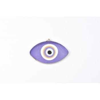 Ξύλινο μάτι 7cm