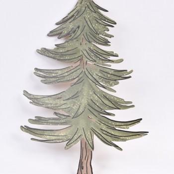 Μεγάλη φιγούρα ξύλινη σχέδιο δέντρο Νο1 40CM