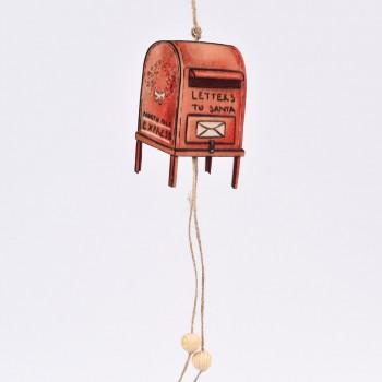 Κρεμαστό στολίδι γραμματοκιβώτιο 30CM