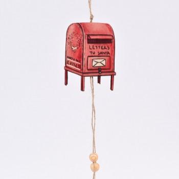 Κρεμαστό στολίδι γραμματοκιβώτιο  Νο2 30CM