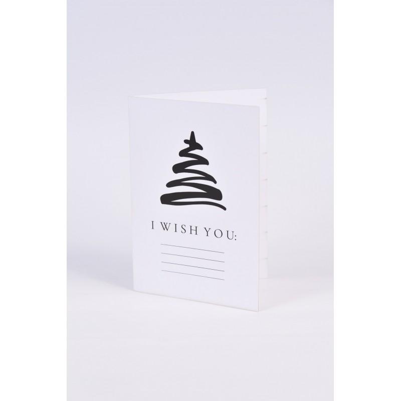 Χριστουγεννιάτικες κάρτες  2 σχεδίων Νο5 10.5X15CM