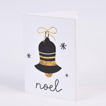 Χριστουγεννιάτικες κάρτες  2 σχεδίων Νο3   10.5X15CM