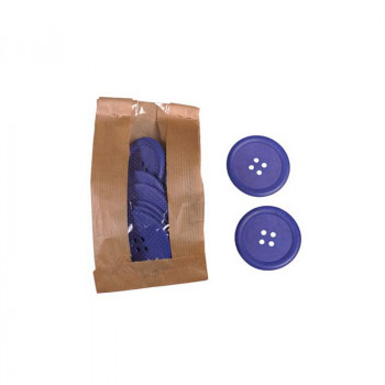 Wooden Buttons Purple