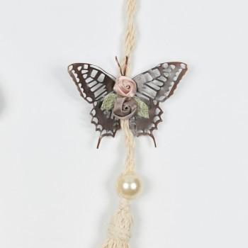 Κρεμαστή πεταλούδα με φούντα