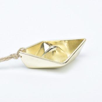 Μεταλλικό καραβάκι χρυσό