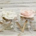 Βαζάκι 100ml latex λουλούδι