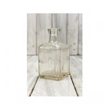 Μπουκάλι  τετράγωνο 7*14cm 250ml
