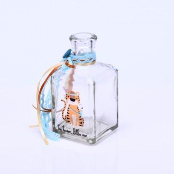 Μπουκάλι με τύπωμα hoho τίγρη