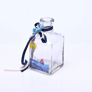 Μπουκάλι με τύπωμα θαλασσινό θέμα