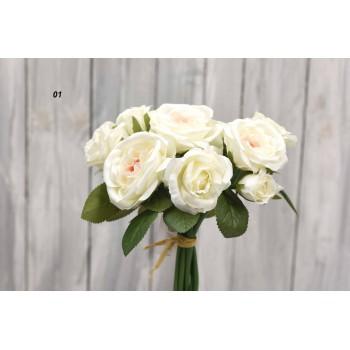 Μπουκέτο  με τριαντάφυλλα Μαγιατικο  30cm