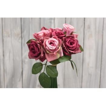 Μπουκέτο  με τριαντάφυλλα 30cm