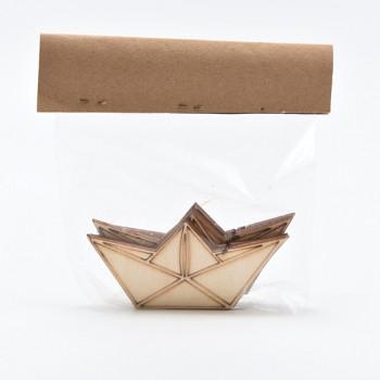 Lasercut  καραβάκι ξύλινο 5X10CM