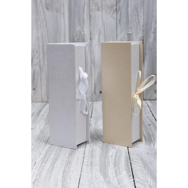 Κουτί μπομπονιέρας με κορδέλα 22x7.5x5cm