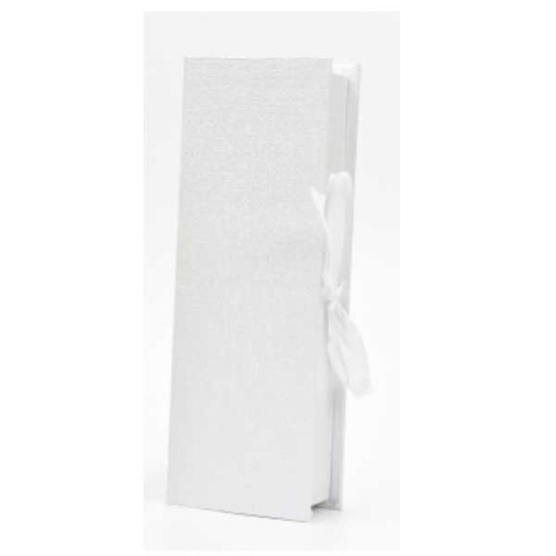 Κουτί μπομπονιέρας λευκό   22x7,5x5cm