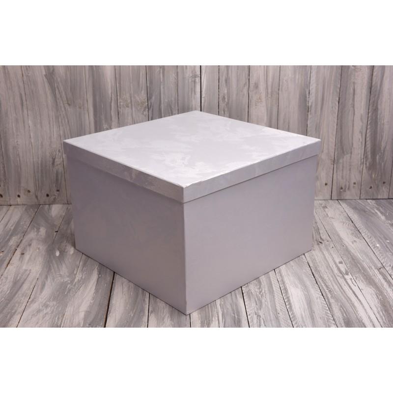 Κουτί στολισμού γκρι 45x45x30
