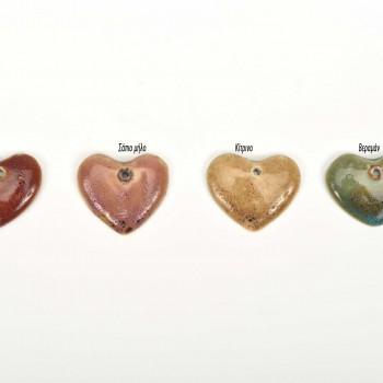 Πορσελάνινη καρδιά 3*3cm