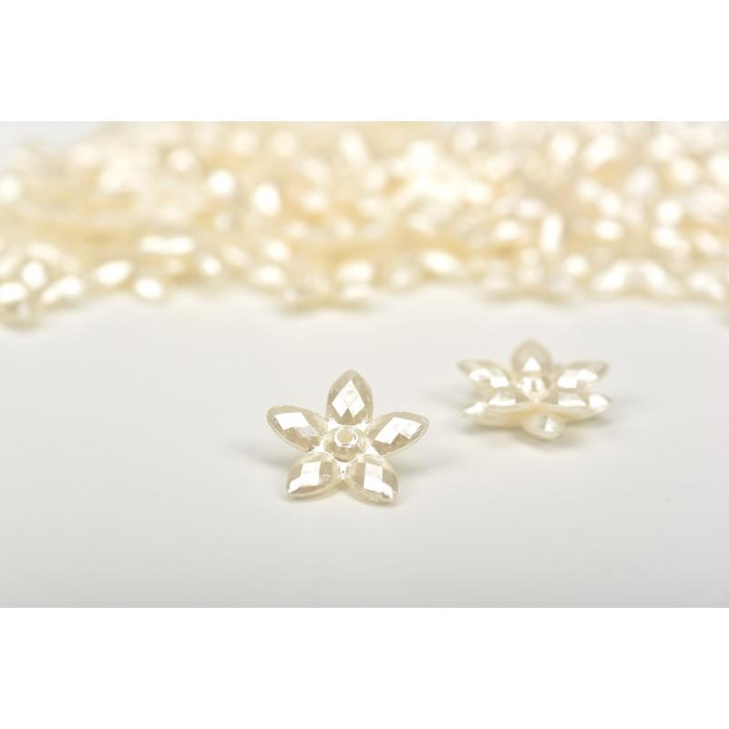 Πέρλα αστέρι λευκό 2cm
