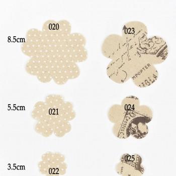 Υφασμάτινα Λουλούδια 3,5cm
